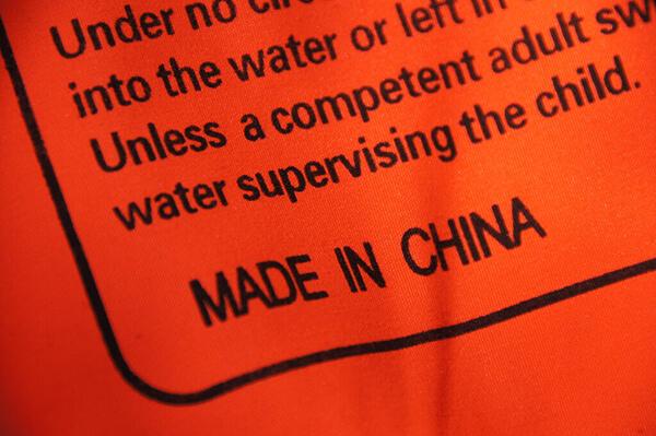 árucikkek Kínából