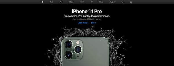 Apple webshop