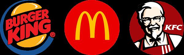 gyorsétterem láncok logói