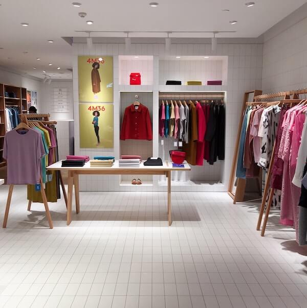 ruházati üzlet
