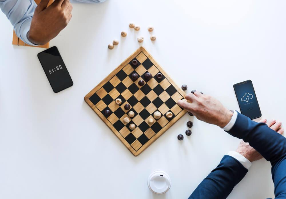sakk üzleti stratégia